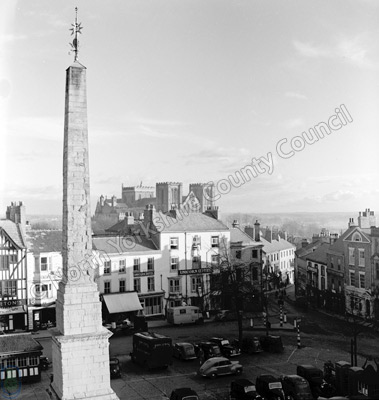 Ripon Cathedral, Market Place and Obelisk